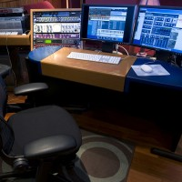 Big wheels studio control room