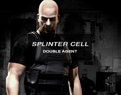 splinter cell double agent, Sam Fisher poster