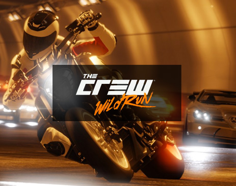 the Crew Wild Run-Bike under tunnel.Ubisoft-Ivory Tower