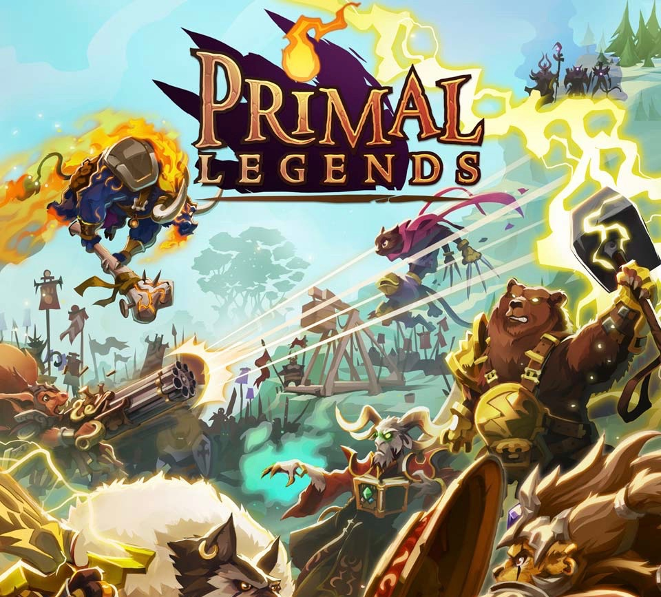 Primal legend, animals attack, a video game by Kobojo, Big wheels studio